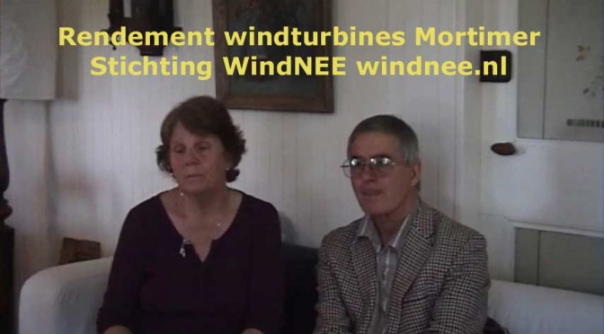 6. Rendement windturbines windboer Mortimer